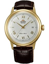 Orient ER24009W Mens Bambino White Dial Leather Strap Automatic Watch