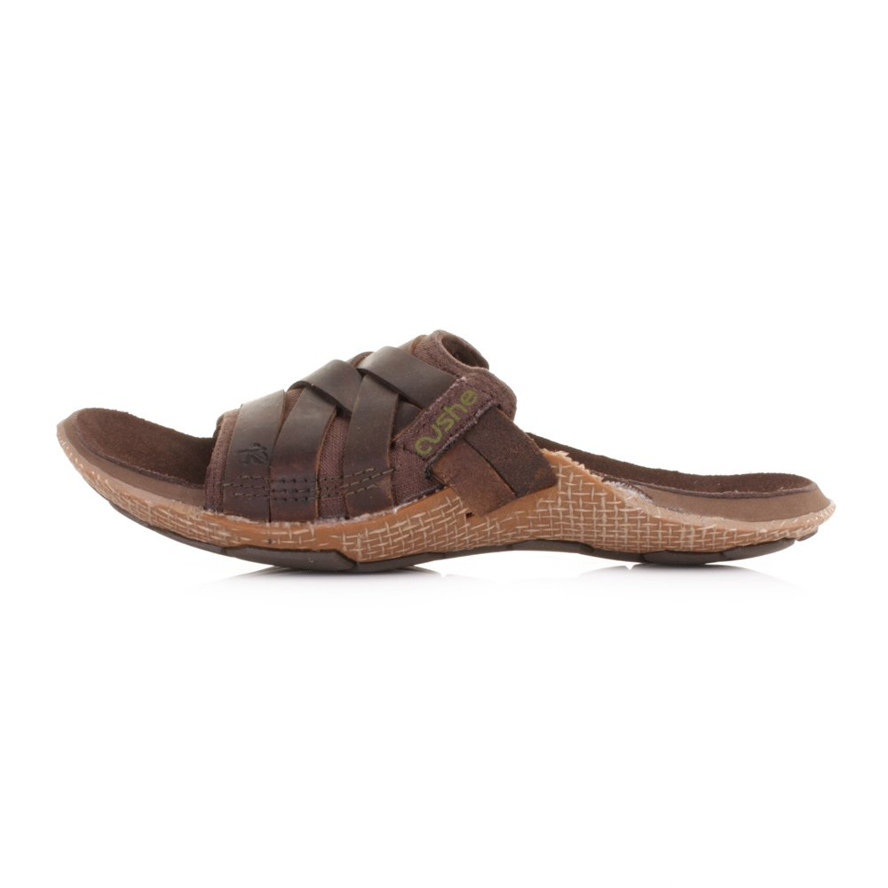 5aa313efbdb Mens Cushe Manuka Strap Brown Leather Sandals SIZE 12  Amazon.co.uk  Shoes    Bags