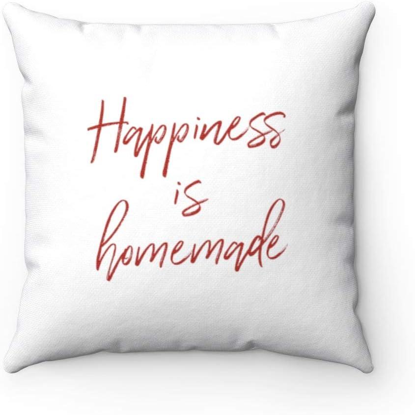 43LenaJon Homemade Pillow, Homemade Throw Pillow, Custom Throw Pillow, Gift idea, Throw Pillow Decorative Cushion Pillowcase, Room Decor