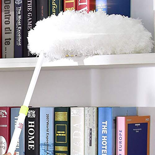 HEART SPEAKER Adjustable Microfiber Folding Dust Duster Car Home Brush Household Cleaning Tool