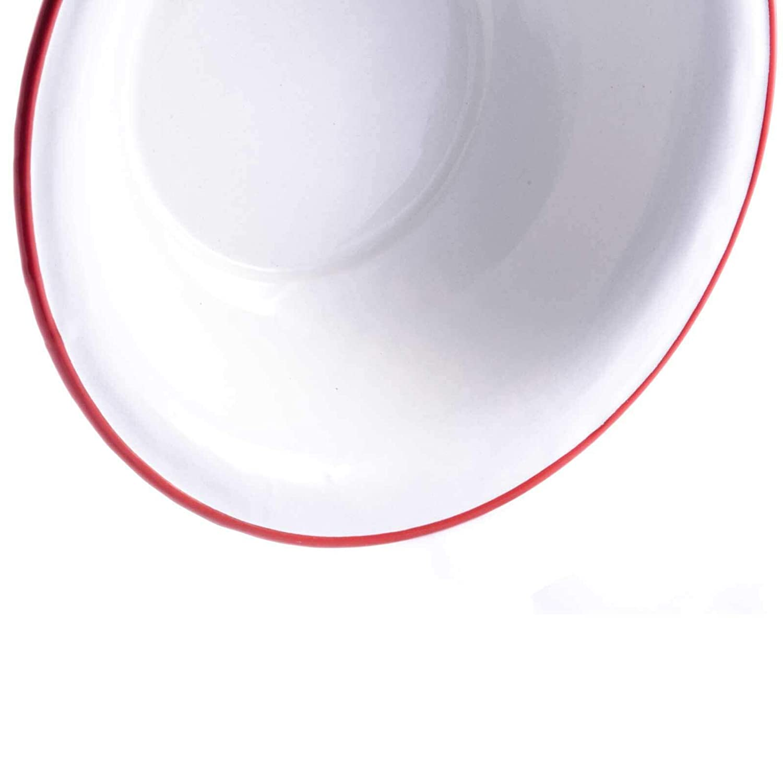 SIDCO Waschsch/üssel Emaillesch/üssel Sch/üssel Emaille Salatsch/üssel Vintage /Ø 32 cm