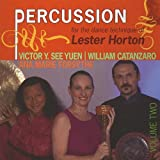 : Percussion for the Dance Technique of Lester Horton, Volume 2