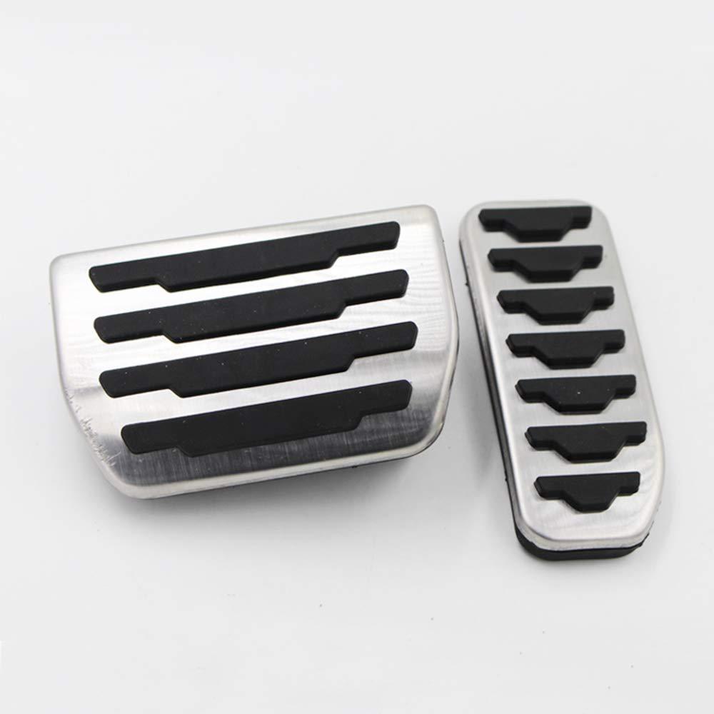 ZPARTNERS Car Styling 2 pz Carburante Gas Freno Acceleratore Pedale Copertura Jaguar XE//F-Pace//Range Land Rover 2011-2014 Evoque