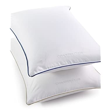 Charter Club Vail Elite Medium/firm Down King Pillow Bedding
