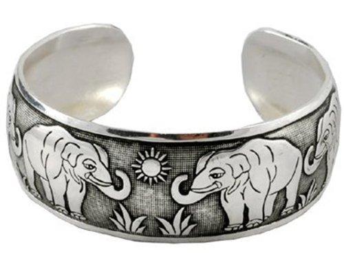 Unisex Alloy Silver Unique Bracelet