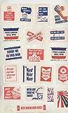 1942 World War II Sticker Stamp WWII Home Front