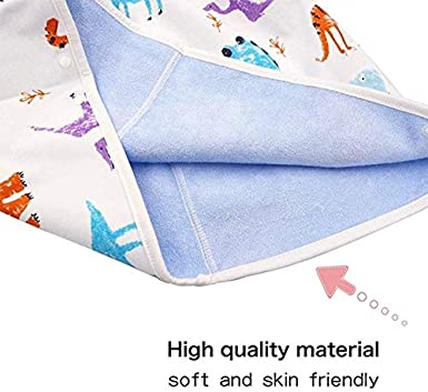 Yusea Baby Toilet Training Pants 2 in 1 Waterproof and Absorbent Shorts for Baby Toddler 0-8 Years Childrens Diaper Skirt Shorts