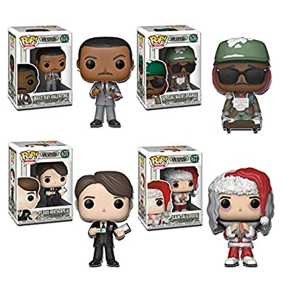 """Funko Pop! Movies: Trading Places Collectible Vinyl Figures, 3.75"""" (Set of 4): Toys & Games"""