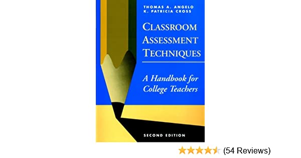 Amazon classroom assessment techniques a handbook for college amazon classroom assessment techniques a handbook for college teachers ebook thomas a angelo k patricia cross kindle store fandeluxe Gallery