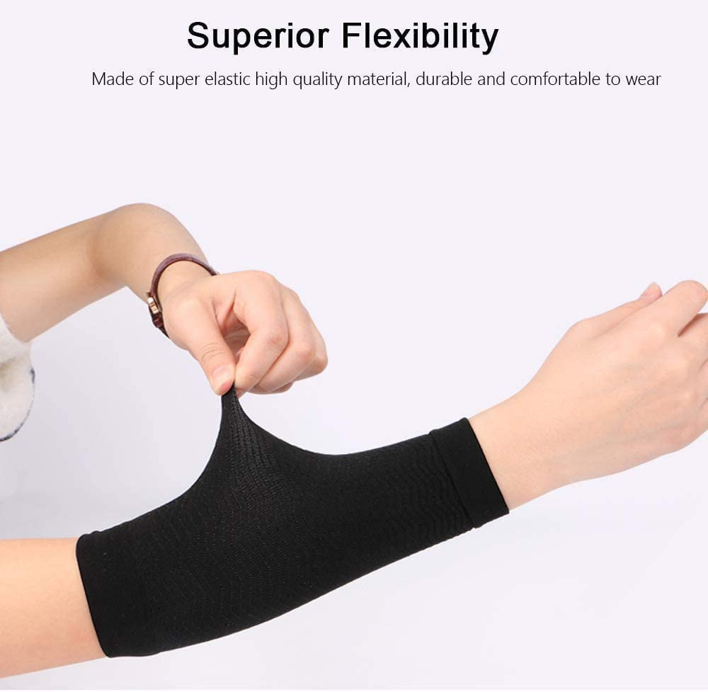 Arm Slimming Shaper Wrap Arm Compression Sleeve Women Weight Loss Upper Arm Shaper Helps Lose Arm Fat Toneup Arm Shaping Sleeves For Women Amazon Ca Health Personal Care