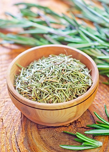 bMAKER Rosemary Premium Dried Herb 1 lb - Kosher Certified & Edible Food Grade- Best for Cooking, Seasoning for Your Steak, Chicken by bMAKER (Image #1)
