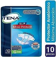 TENA Slip Maxi Protect; Protector Anatómico para Incontinencia, Talla Grande; TENA; 10 Piezas