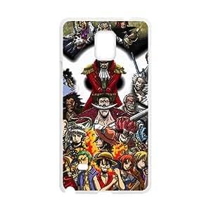 Samsung Galaxy Note 4 Phone Case White One Piece KQ9998262