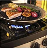 #1 Dr. Recommended Healthy Indoor Stove top Smokeless BBQ Grill Kitchen BBQ Barbecue