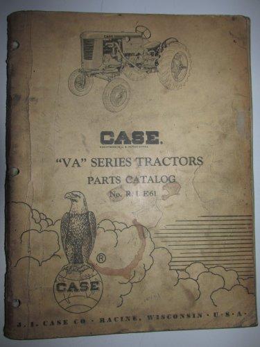 Case VA Series Tractor Parts Catalog Book Manual Original ()