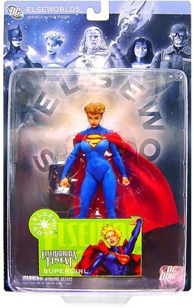 DC Direct Elseworlds Series 3 Action Figure World's Finest Supergirl by DC Comics Dc Direct Elseworlds Series