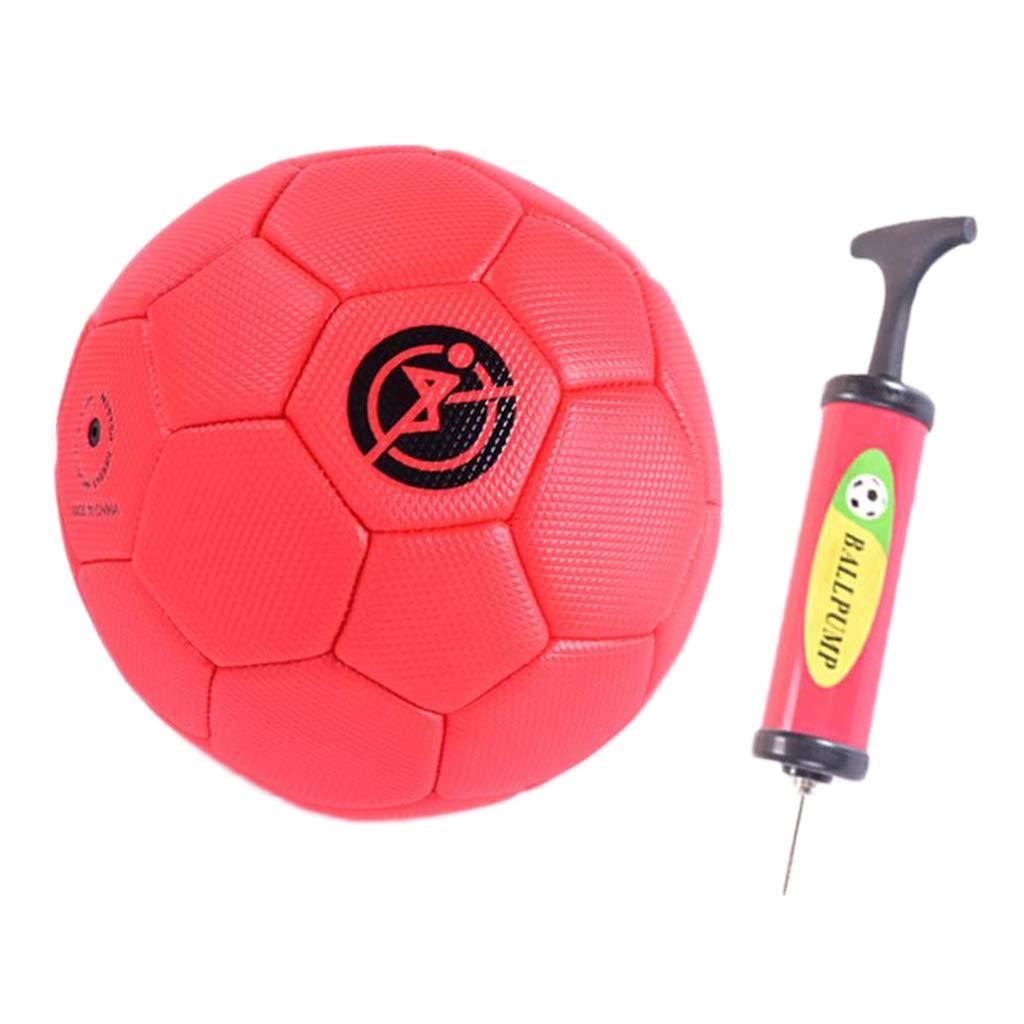 Balón de Fútbol 1 Pieza Tamaño 2 Fabricado en PVC Caucho Aire ...