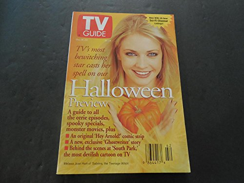 Issue TV Guide Oct 18-24 1997 Halloween Preview -