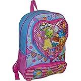 """Shopkins Deluxe 16"""" School Bag Backpack"""