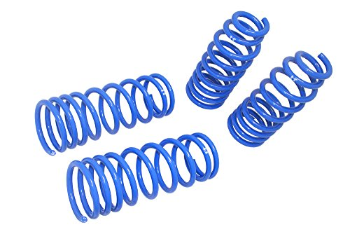 Manzo USA Ford Mustang Lowering Drop Springs Coil Kit (Ford Mustang Lowering Springs)