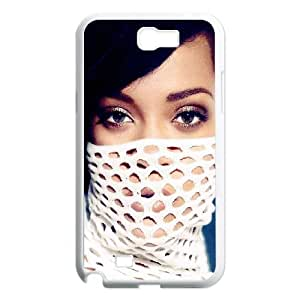 Celebrities Rihanna In White Dress Samsung Galaxy N2 7100 Cell Phone Case White DIY Present pjz003_6532128