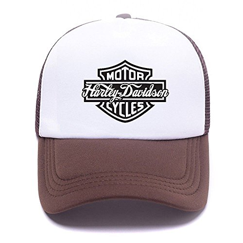 Black 002 Brown Baseball Men béisbol Mesh For Women Hat de Harley Boy D Cap Caps Gorras Girl Trucker wUxSB5qFa