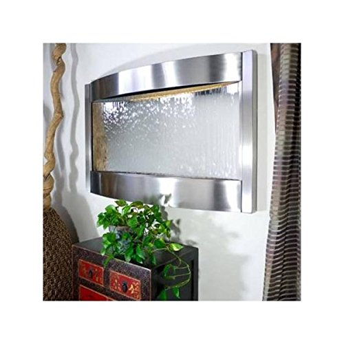 Contempo Falls Slate and Oil Robbed Bronze finish Wall Fountain by Bluworld