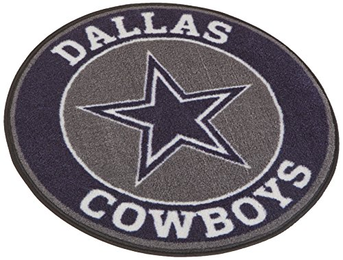 FANMATS 17956 NFL Dallas Cowboys Roundel Mat (Car Mats Nfl Cowboys Dallas)