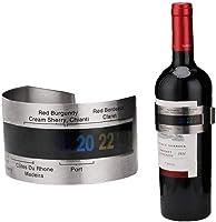 Vino Termómetro Pulsera De Acero Inoxidable Vino Tinto Botella De Vino Temperatura del Sensor Termómetro Herramientas De Medición