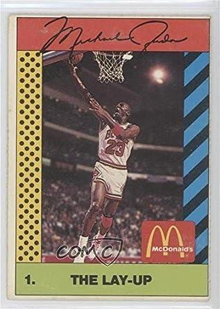 76fe4485030e3 Amazon.com: Michael Jordan (Basketball Card) 1990 McDonald's Sports ...