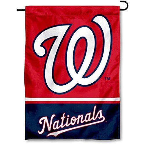 (WinCraft Washington Nationals Double Sided Garden)