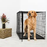DuraCrate Folding Dog Crate 48Lx30Wx33H