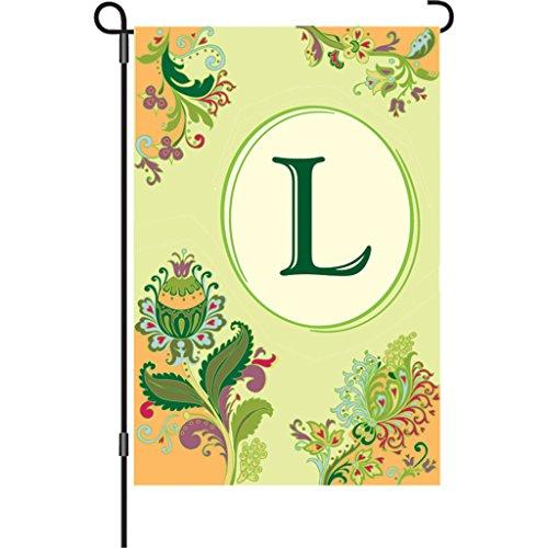 [Premier 51372 Spring Monogram Flag, Letter L, 12-Inch] (Letter L Costumes)