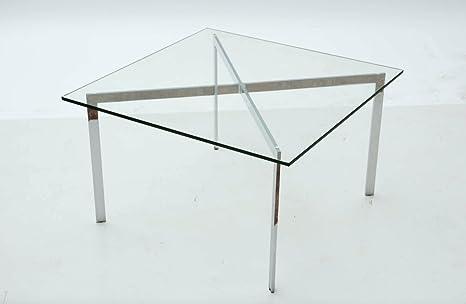 Tavolini Da Salotto Knoll.Tavolino Da Salotto Barcelona By Mies Van Der Rohe Per Knoll