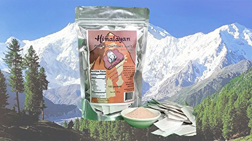 Himalayan Pink Salt-Single Serve packets (100 pack) 1.3 grams each