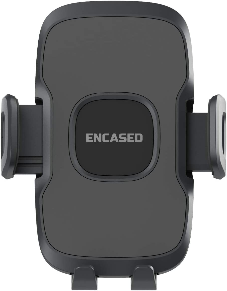 Case Compatible Encased CD Phone Mount Holder Adjustable CD Player Slot Cell Phone Dock for Samsung Galaxy /& iPhone