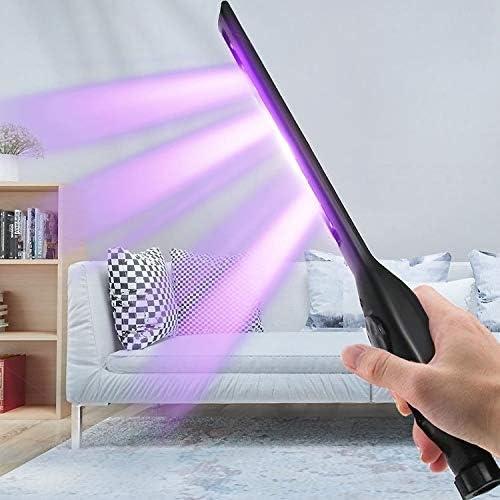 YANYA ポータブル家庭用ハンドヘルド滅菌殺菌灯UV消毒スティック