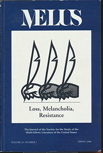 Blu Hanging (Melus : Leprosy and Lois-Ann Yamanaka's Blu's Hanging; Manhood & Native Resistance in Jacksonian America; Christina Garcia & Ana Menendez; Hagiographic Commermorafiction)