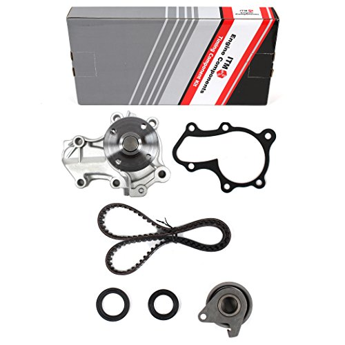 New ITM289WP (107 Teeth) Timing Belt Kit, Oil Seals, and Water Pump Set for Mitsubishi 1.5L Mirage 1997-02 -