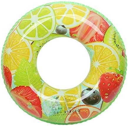 標準フルーツ肥厚大人男の子と女の子レインボー増加水泳リングフルーツ救命浮輪赤ちゃんフローティングリングインフレータブル脇の下リング (色 : Standard fruit, サイズ さいず : 90)