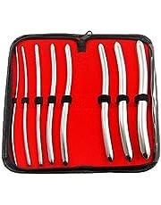 Bdeals 8 Pcs Set Hegar Uterine Dilator with A Carrying Case