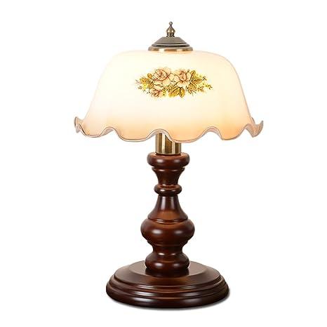 Best Wishes Shop lámpara de Mesa- Lámpara de Mesa de Madera ...