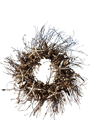 Starfish Driftwood Wreath, 25