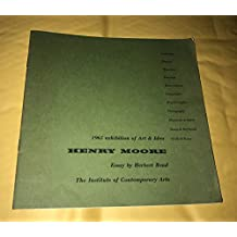 1965 exhibition of Art & Idea HENRY MOORE Essay by Herbert Read