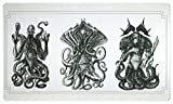 Antique Titans Playmat Inked Gaming - Inked Playmats / Perfect for MtG Pokemon & YuGiOh Magic the Gathering TCG Game Mat