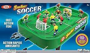 Ideal sure shot f tbol juego de mesa juguetes for Juego de mesa de futbol