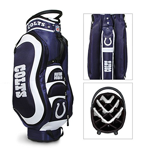 NFL Indianapolis Colts Medalist Golf Cart (Indianapolis Colts Golf Cart Bag)