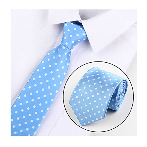 ka Dot Silk Cravat Tie Casual Neckwear Holiday Gifts for Men ()