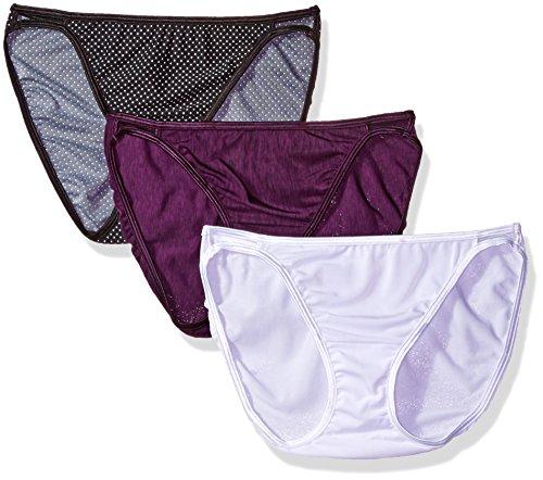 Vanity Fair Women's 3 Pack Illumination String Bikini Pan...