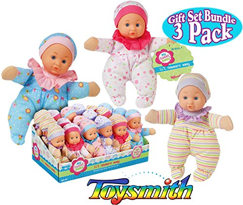 Toysmith Newborn Soft Dolls Bundle